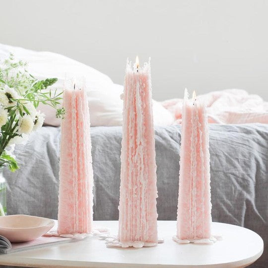 Passion and Guava Icicle Candles from Paperie