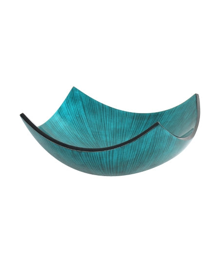 Paper bowl in line turquoise from Something Swish
