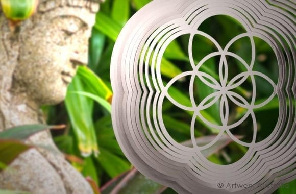 Seed of Life wind spinner from Artwerx