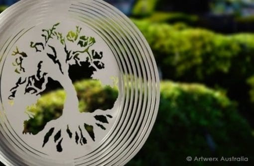 Tree of Life wind spinner from Artwerx