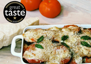 Great Taste Award Winning Aubergine Parmigiana.