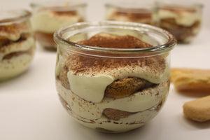 Delicious Handmade Desserts. Classic Italian Tiramisu', but not only. Also Baked Cheesecake and Apple Cake among the most popular ones.