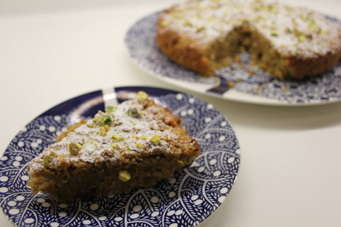 Pistacho, Carrot and Coconut Cake (Tue 2 Mar)