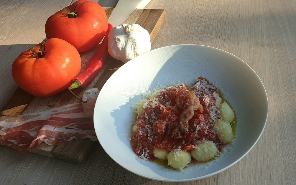 Gnocchi All'Amatriciana - with or without chillies (Thu 8 Apr)