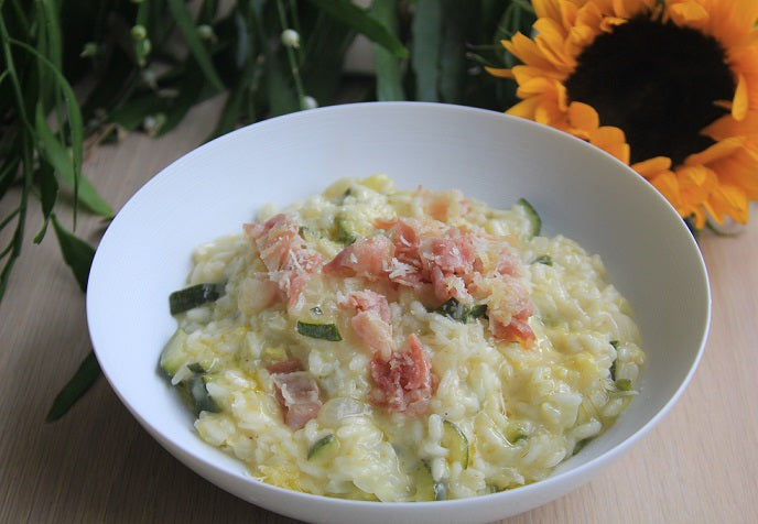 Risotto with Courgettes and Bacon (Thu 11 Feb)