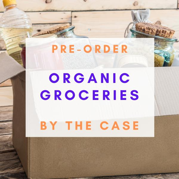 (PRE-ORDER) Organic Groceries By The Case