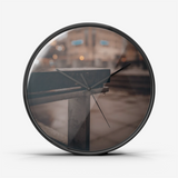 City Scape Silent Wall Clock