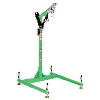 3M™ DBI-SALA® Advanced 5-Piece Davit Hoist System, Green, Silver