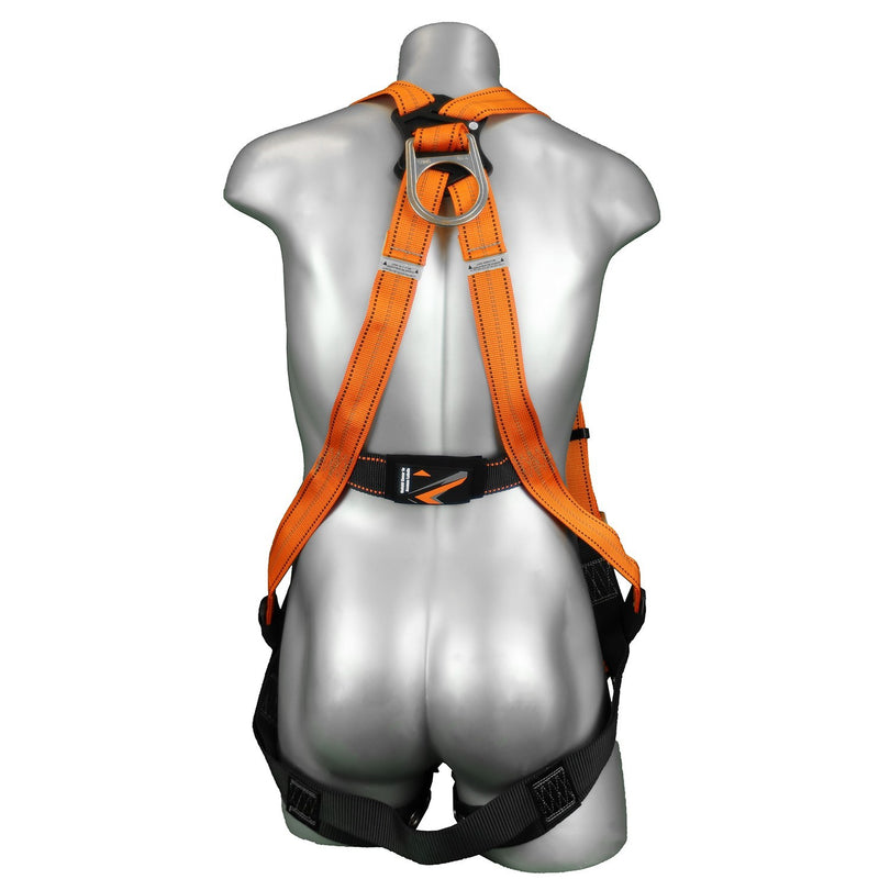 Warthog H-Style Full Body Harness with Tongue Buckle Legs
