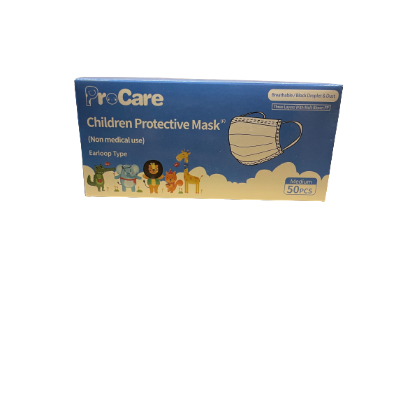 Disposable Children's Mask (Box of 50)