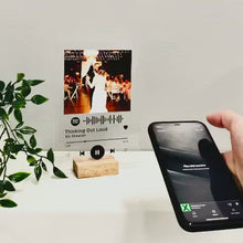 Load and play video in Gallery viewer, Personalised Spotify Acrylic Song Plaque
