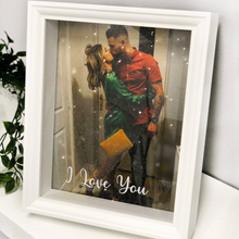 Load image into Gallery viewer, Personalised Diamond Dust Box Frame