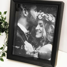 Load image into Gallery viewer, Wedding Diamond Dust Box Frame