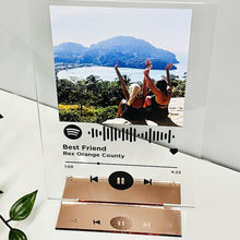 Load image into Gallery viewer, Personalised Spotify Acrylic Song Plaque