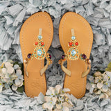 CONCHA - Pasha Sandals - Jewelry for your feet -