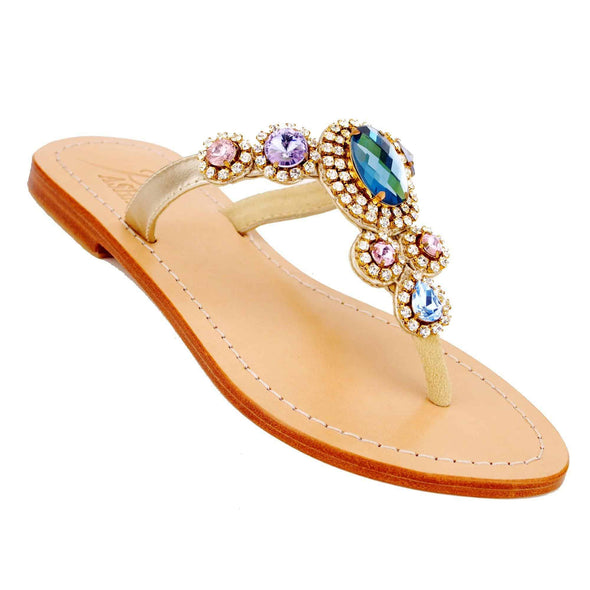 CORINTH - Pasha Sandals - Jewelry for your feet -