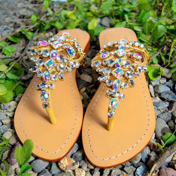 DAWSON - Pasha Sandals - Jewelry for your feet -