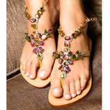 ELBA - Pasha Sandals - Jewelry for your feet -