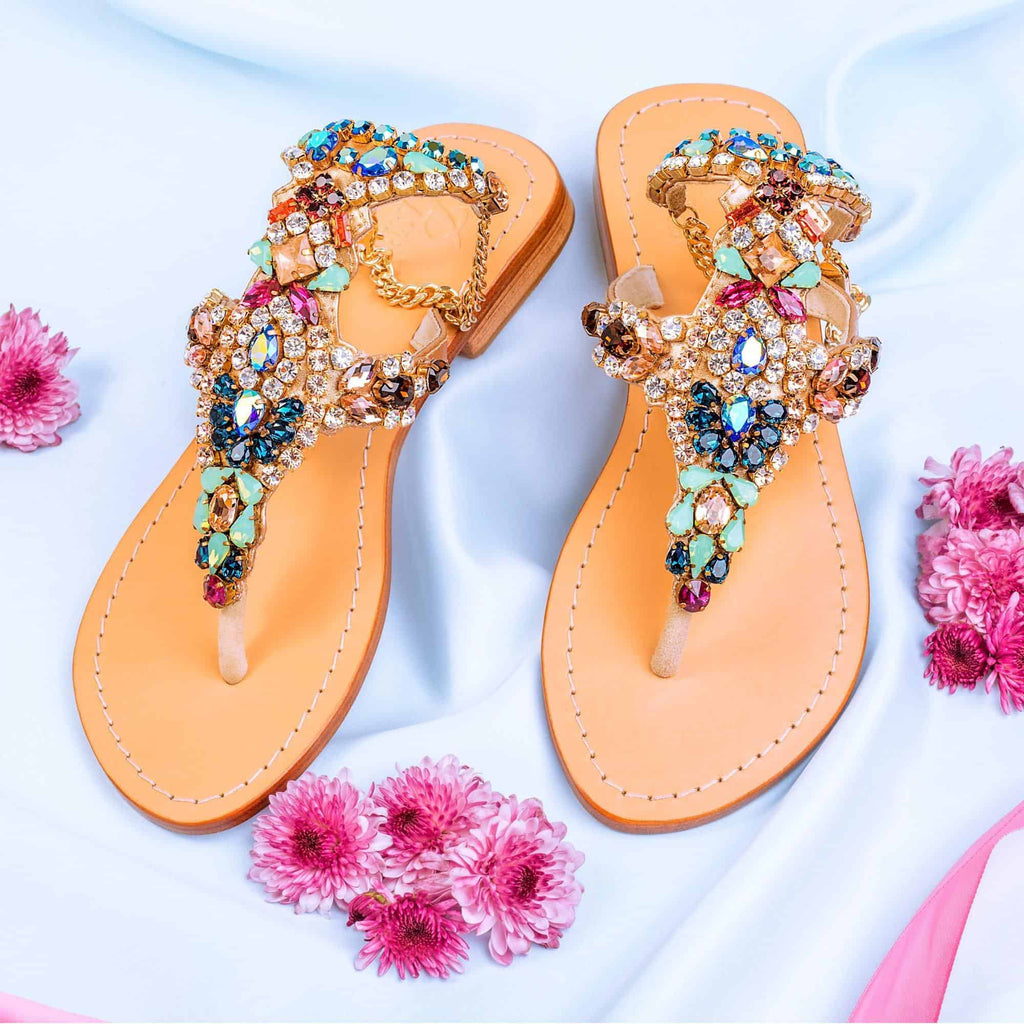 Galt Multi Gold Sandals