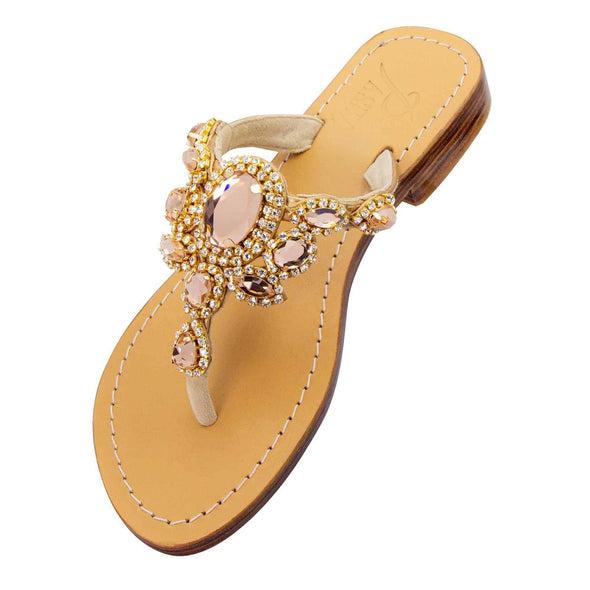 GLAROS - Pasha Sandals - Jewelry for your feet -