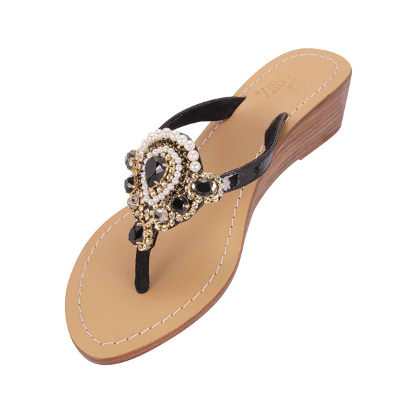 HAIZHU - Pasha Sandals - Jewelry for your feet -