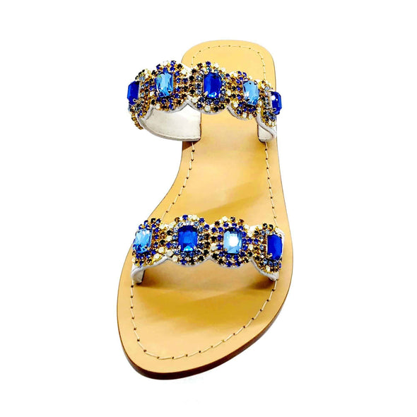 Light Sapphire White Sandals