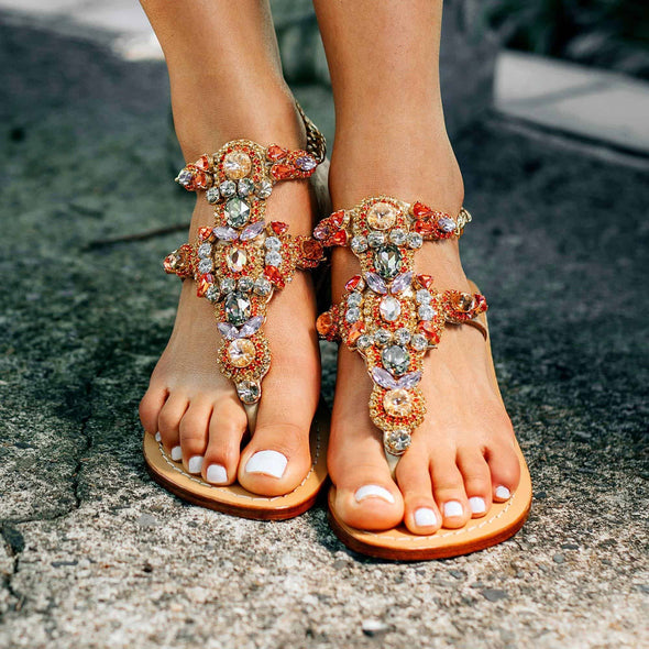 LICHADES - Pasha Sandals - Jewelry for your feet -