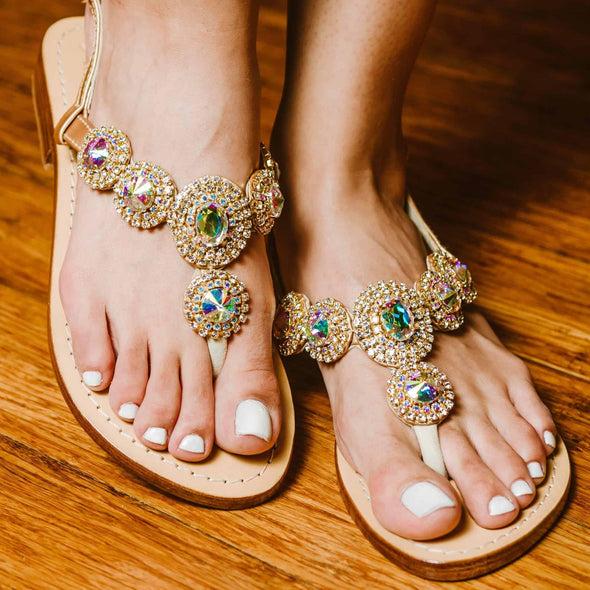 MAURITIUS - Pasha Sandals - Jewelry for your feet -