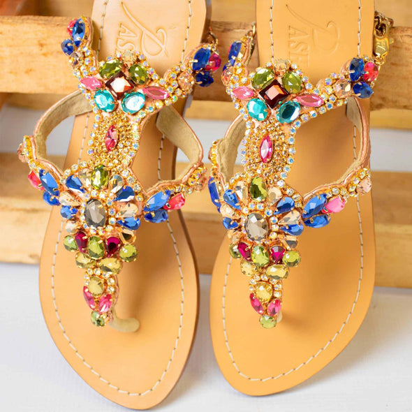 NEGROS - Pasha Sandals - Jewelry for your feet -