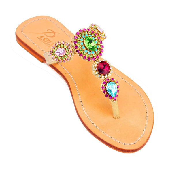 OREKE - Pasha Sandals - Jewelry for your feet -