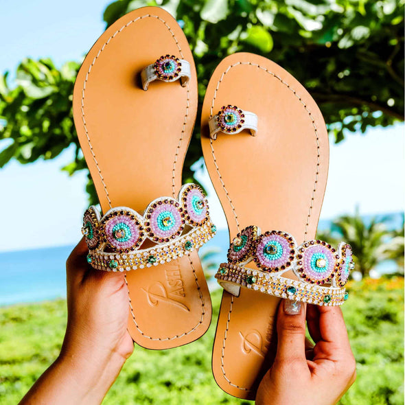 SURTSEY - Pasha Sandals - Jewelry for your feet -