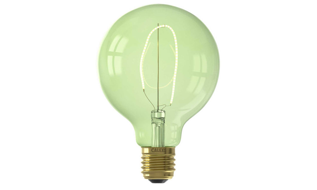 LED Calex Colour Emerald Green E27