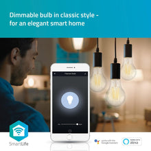 Afbeelding in Gallery-weergave laden, LED Nedis Smart Home Filament Goud E27 5W ST64