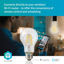 Afbeelding in Gallery-weergave laden, LED Nedis Smart Home Filament Helder E27 5W A60