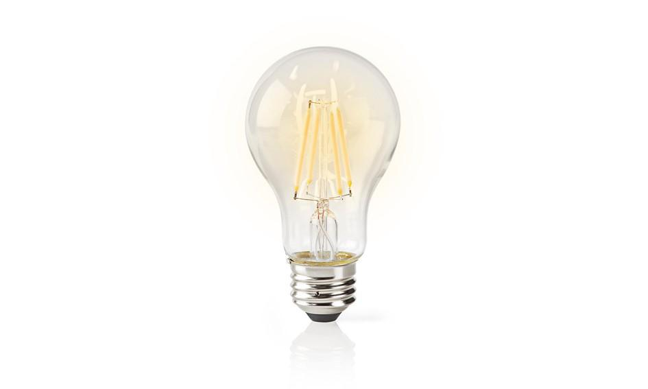 LED Nedis Smart Home Filament Helder E27 5W A60