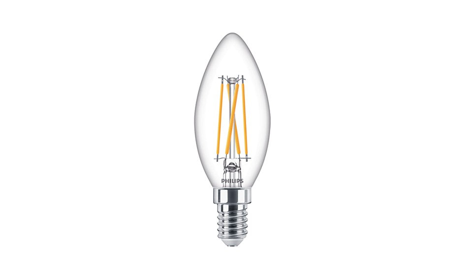 LED Philips kaars Helder E14 4.5 watt