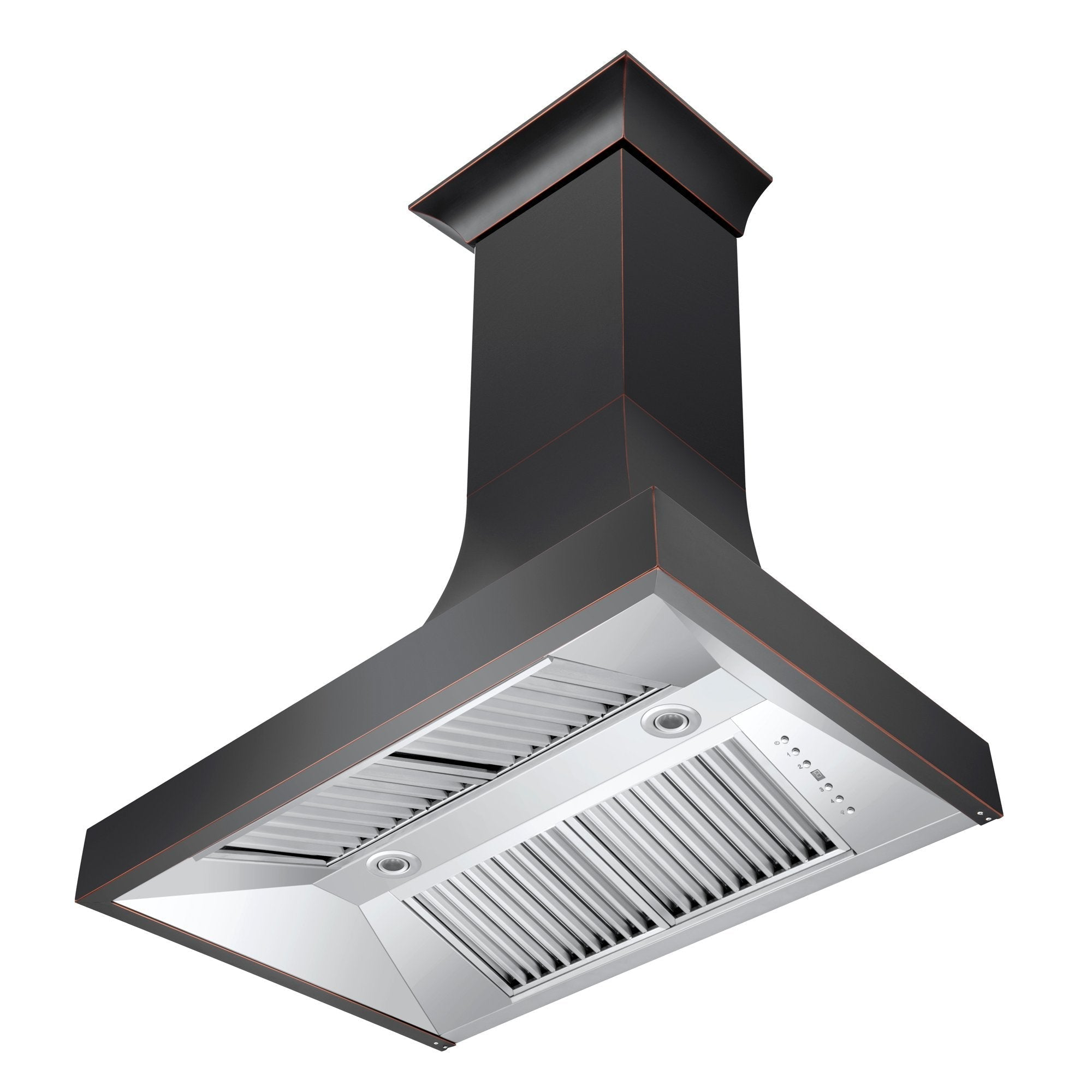 ZLINE Kitchen and Bath, ZLINE Designer Series Oil-Rubbed Bronze Wall Range Hood (8632B), 8632B-30,