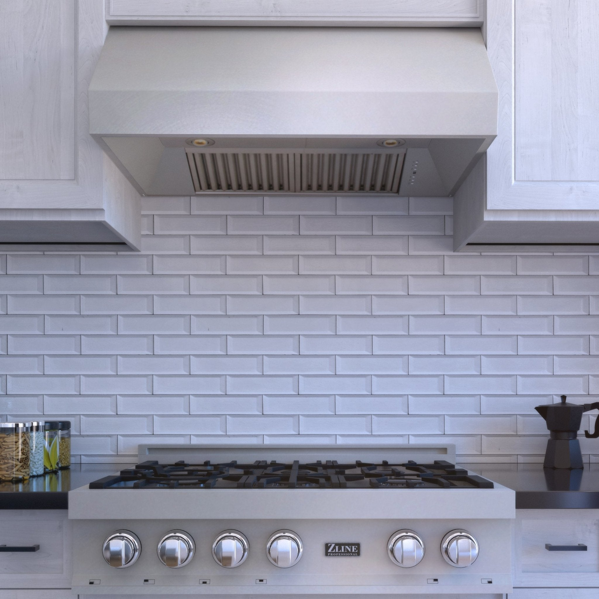 ZLINE Kitchen and Bath, ZLINE DuraSnow® Stainless Steel Under Cabinet Range Hood (8685S), 8685S-30,