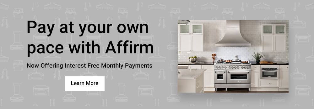 Pay at your own pace with affirm financing