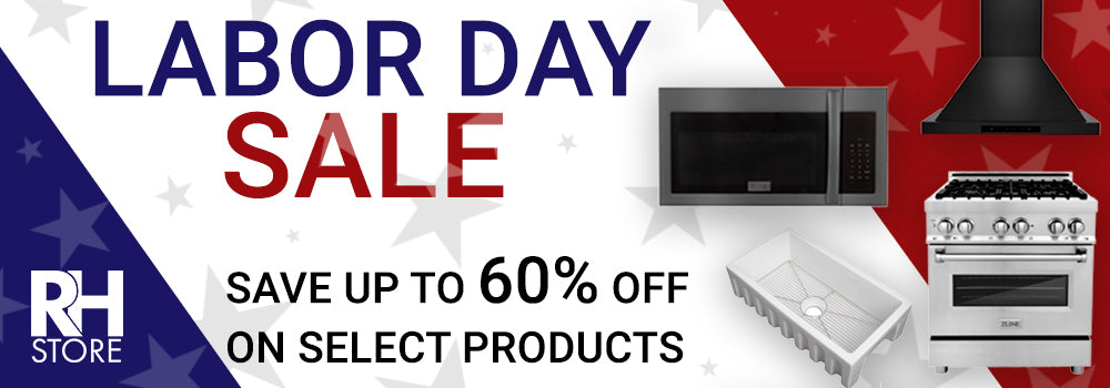 Labor Sale - Save up to 60% Off on Select Products The Range Hood Store
