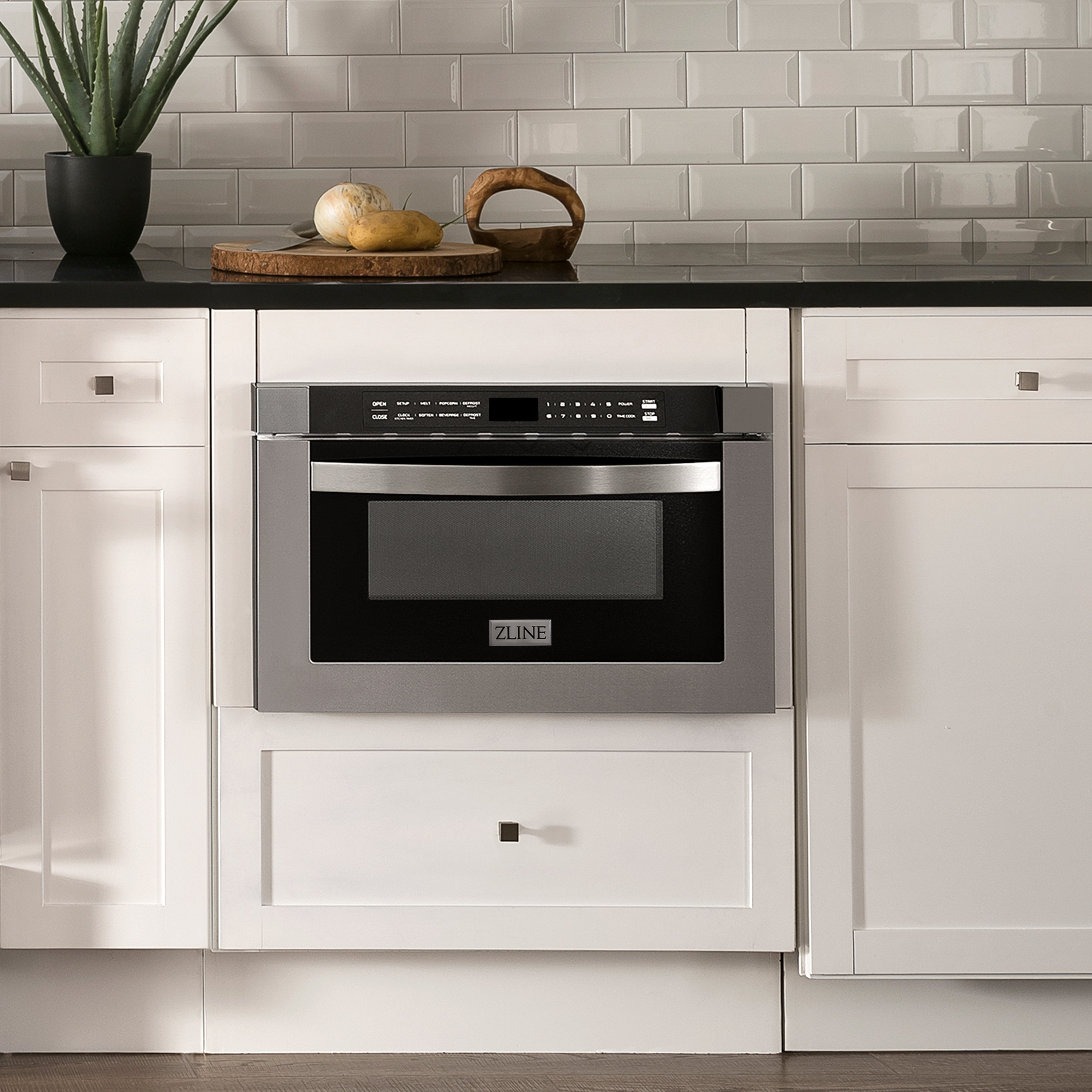 ZLINE Microwave Drawer in Stainless Steel (MWD-1)