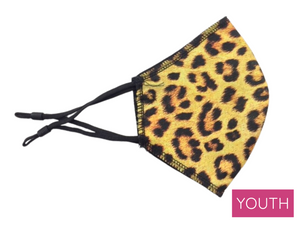 Youth Face Mask, Leopard Print