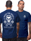 Built for Speed Men's Tee in Navy Tshirt