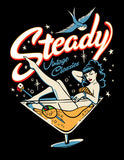 Steady Martini Men's Tee Tshirt