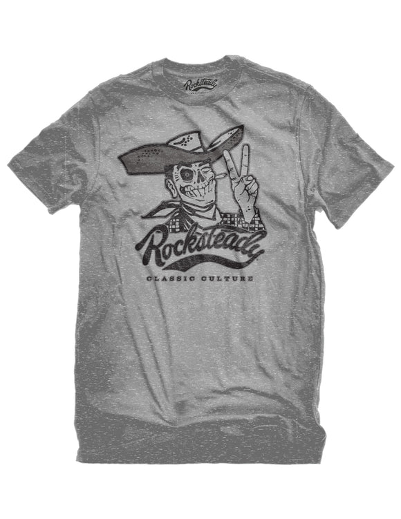 Rocksteady Howdy Men's Tee in Athletic Heather Tshirt