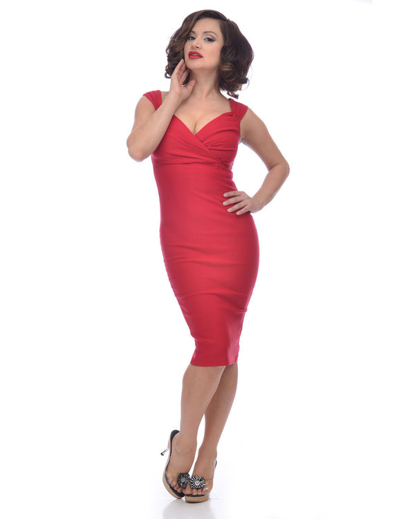 Diva Dress in Red