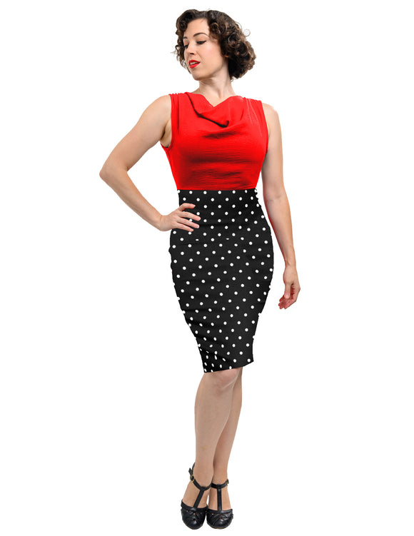 Polka Dot Ramona Wiggle Dress