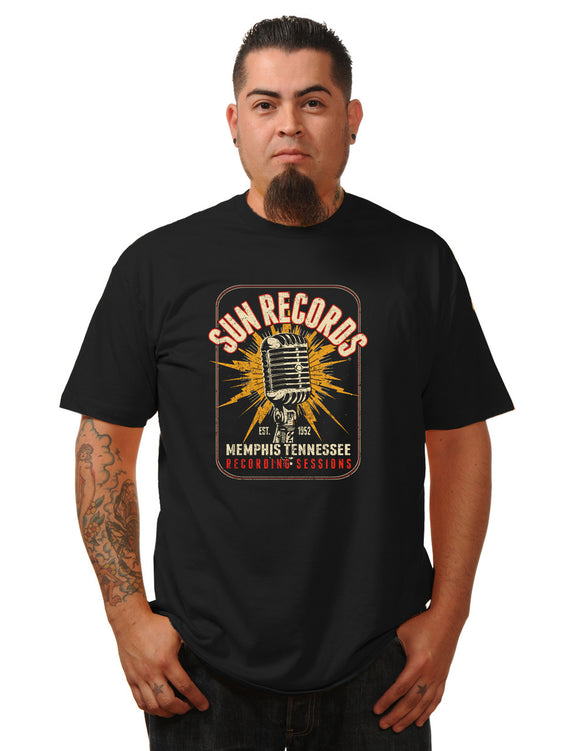 Sun Records Electric Mic Men's Tee