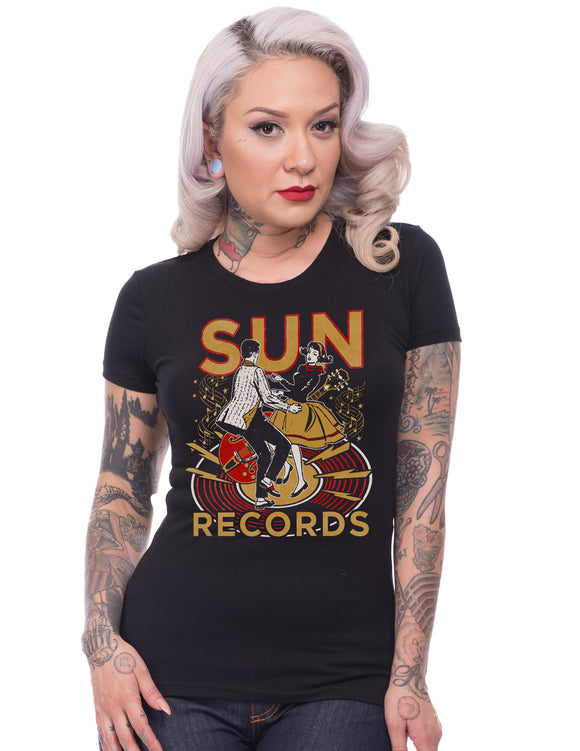 Sun Records Lindy Hop Women's Tee