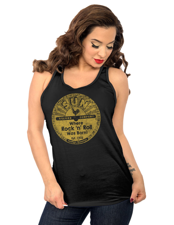 Sun Distressed Women's Tank